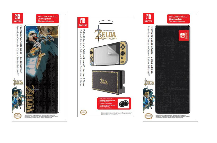 Breath of the Wild will have a custom Nintendo Switch skin