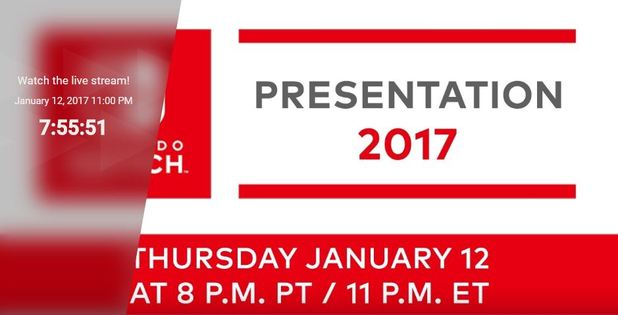 Watch the Nintendo Switch presentation here; Play Bingo while you watch
