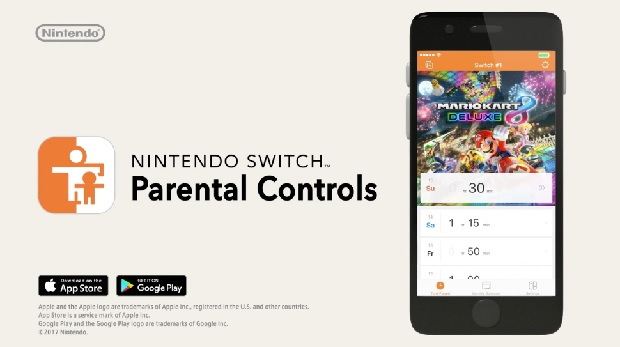 Nintendo Switch will include robust parental control companion app