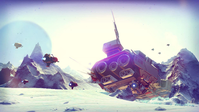 No Man's Sky appears to be getting Land Vehicles according to leaked Data Files