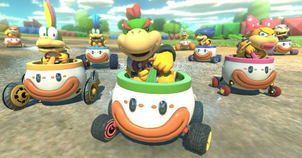 Mario Kart 8 Deluxe Artwork Implies Five Battle Types