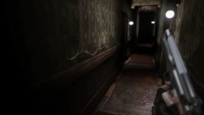 Resident Evil REmake made into a first-person game is pretty cool