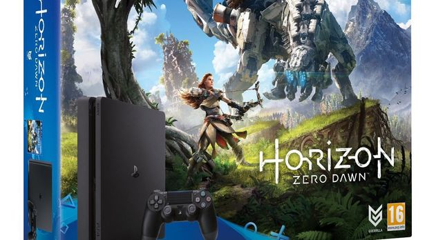Horizon Zero Dawn With 1TB PS4 Bundle
