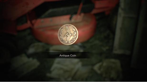 Resident Evil 7 Guide: All Antique Coins on Easy/Normal difficulty
