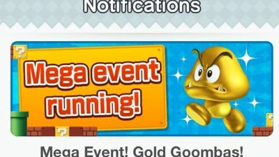 Super Mario Run Adds Easy Mode, Golden Goomba Event