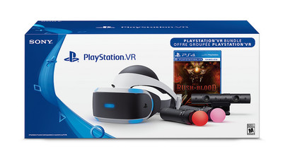 More PlayStation VR bundles are coming next week; includes camera and Move controllers