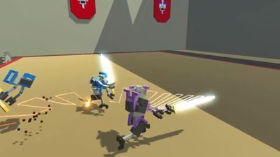 Clone Drone in the Danger Zone hits Steam Greenlight today