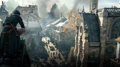 [Watch] Assassin's Creed: Unity actually looks pretty awesome running with PS4 Pro's Boost Mode