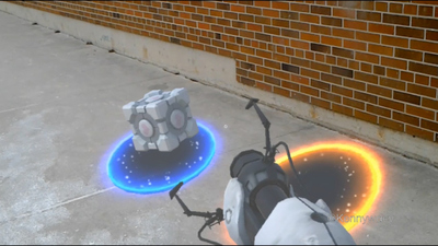 [Watch] Someone made Portal in Microsoft's Hololens glasses and it's awesome
