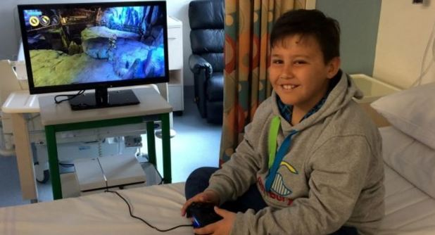 Thieves stole a bolted-down PlayStation from children's cancer ward
