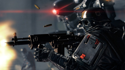 "Bethesda's Pete Hines says Wolfenstein: The New Order developer's next game is ""f**king bananas"""