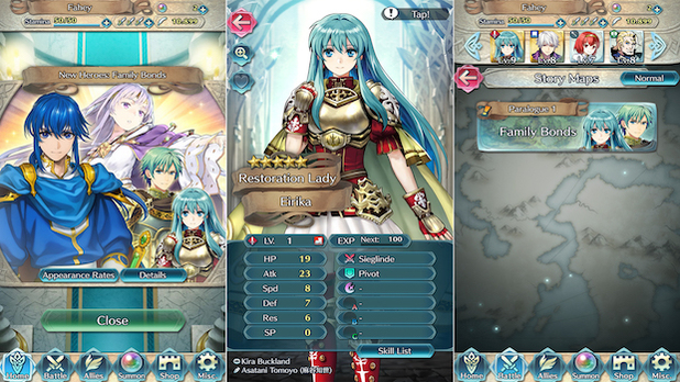 New characters and quests added to Fire Emblem: Heroes