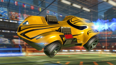 Rocket League's massive Hot Wheels and PS4 Pro support update is officially live