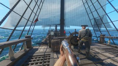 Blackwake, a Multiplayer Naval FPS focused on co-op hits Steam Early Access