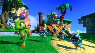 [Watch] Yooka Laylee gets new trailer showing off Glitterglaze Glacier level