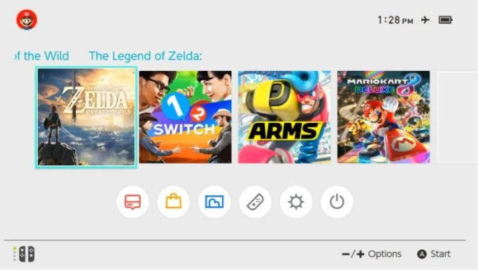 Switch UI