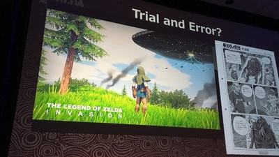GDC 2017: Nintendo reveals canned Zelda alien game and Breath of the Wild prototype