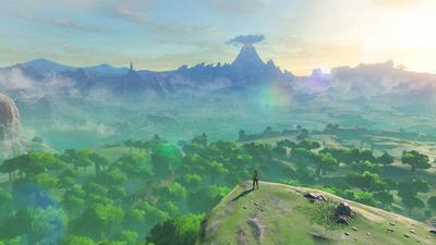 Zelda: Breath of the Wild Day One Update adds DLC Menu