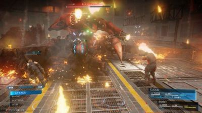 Final Fantasy 7 Remake to have action based combat, not command based, clarifies director