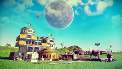No Man's Sky 'Path Finder' update to feature new vehicle