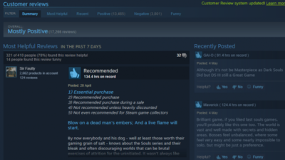 Steam User Reviews Will No Longer Count if User Didn't Pay For a Copy