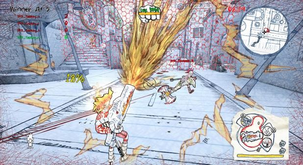God of War director's new game, Drawn to Death, free on PS+