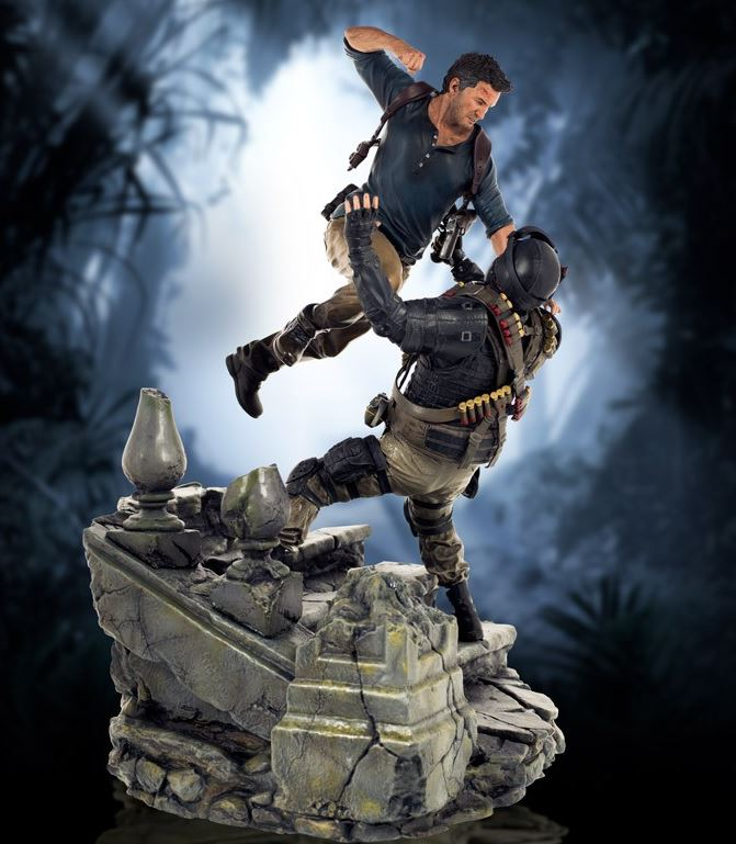Uncharted 4 Statue