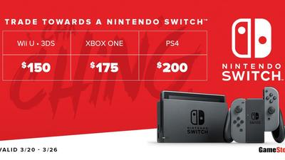 GameStop Has Epic Trade-in Deals for Nintendo Switch for a Limited Time