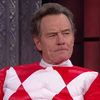 Bryan Cranston dressed as the Red Ranger is the best thing you'll see all day