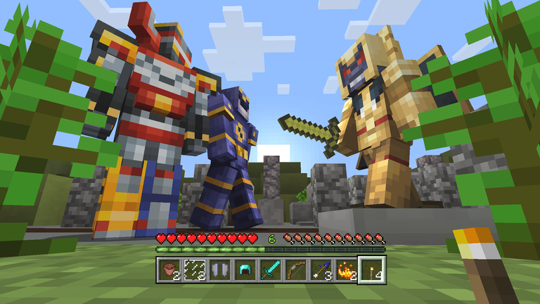 Power Rangers Skin Pack Comes to Minecraft