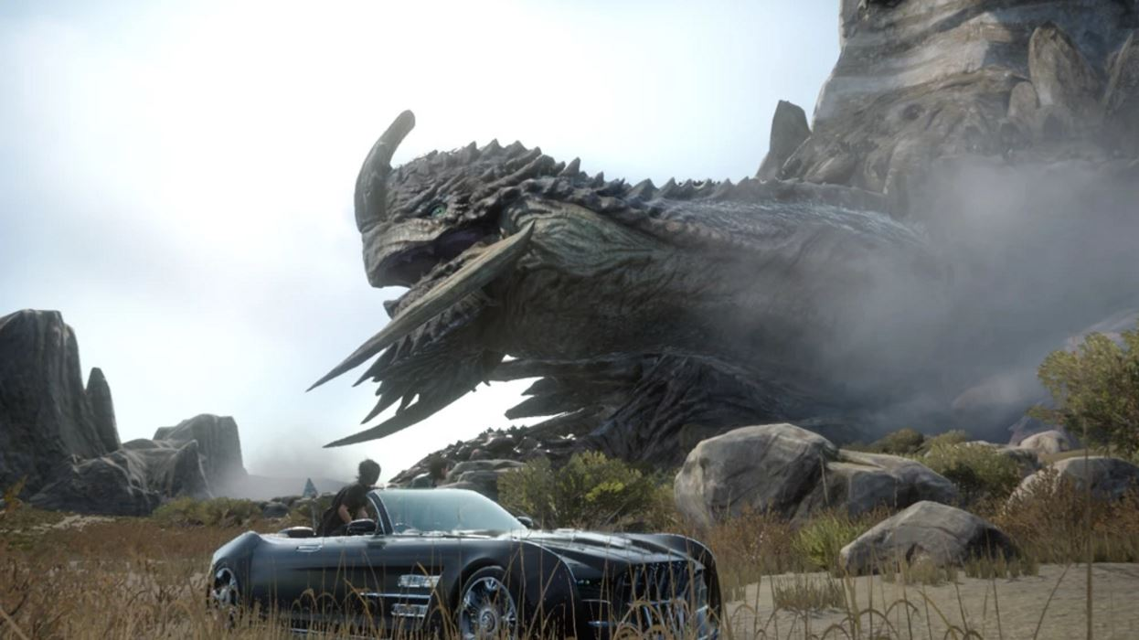 The latest Final Fantasy XV patch has apparently made the game's hour-long Adamantoise battle a breeze