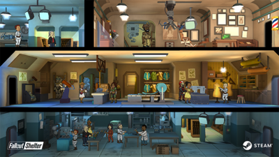 Fallout Shelter Now on Steam with New Updates
