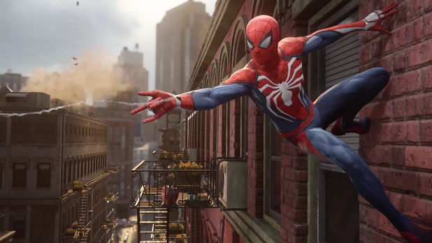 PlayStation 4-Exclusive Spider-Man Game To Release in 2017