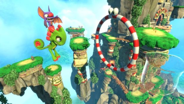 Yooka-Laylee Review Leaked Best 3D Platformer since Super Mario Galaxy