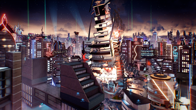 Crackdown 3 Twitter Teasing New Info Soon