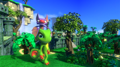 Yooka-Laylee Day One Update, What's in it?