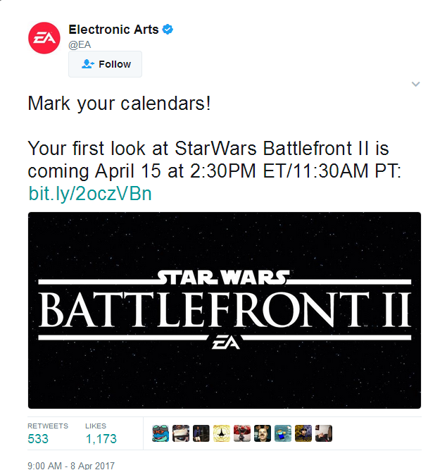 Ea Posts Then Deletes Tweet About Star Wars Battlefront  Gameplay