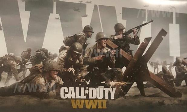 Rumor: Alleged Call of Duty WWII poster calls for November release, PlayStation DLC exclusivity