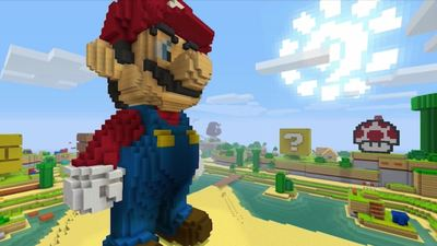 Minecraft comes to Nintendo Switch in May alongside Mario texture pack