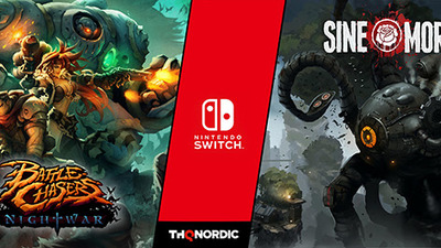 Sine Mora EX and Battle Chasers: Nightwar are coming to Nintendo Switch