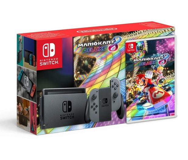 That Mario Kart 8 Deluxe Switch Bundle is Real But Not How You Want It