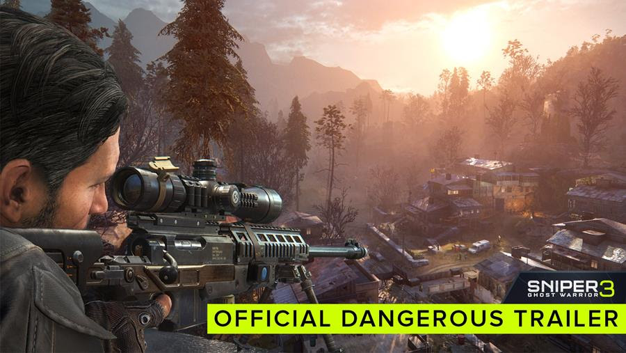 [Watch] Sniper: Ghost Warrior 3 releases a 'Dangerous' new trailer
