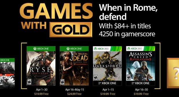 GameZone PSA: The next wave of Xbox Live Games With Gold are now available