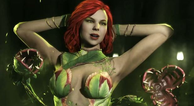 Fear the Venomous Kiss of Poison Ivy in Injustice 2