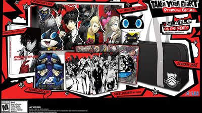 PSA: Last Day for Prime Discount on Persona 5 Standard and Premium Edition