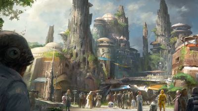 [Watch] Disney's Star Wars land gets more details; On track for 2019 opening