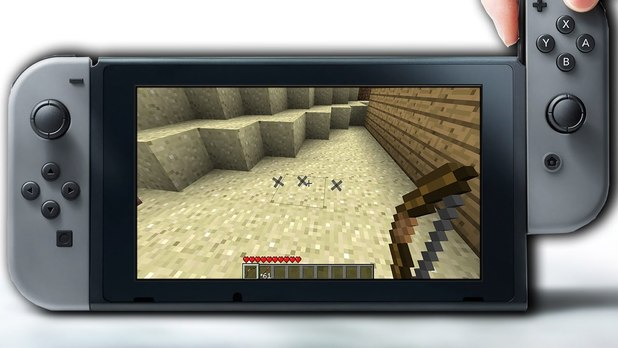 """Minecraft Nintendo Switch Edition Will Run at 60FPS with """"Medium"""" World Size With Wii U World Transfers"""