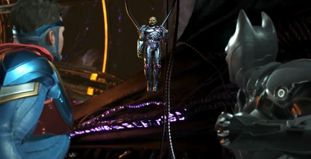 Part Five Of Injustice 2 Shattered Alliances Brings In Brainiac