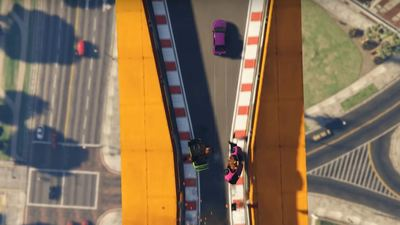 GTA 5 Online goes top down for new stunt racers mode