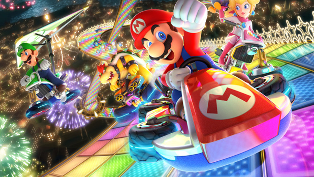 Shine Thief Showcase | Mario Kart 8 Deluxe Battle Mode Gameplay